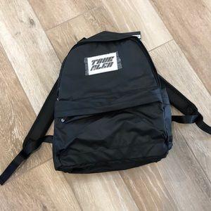 True Religion Black Backpack